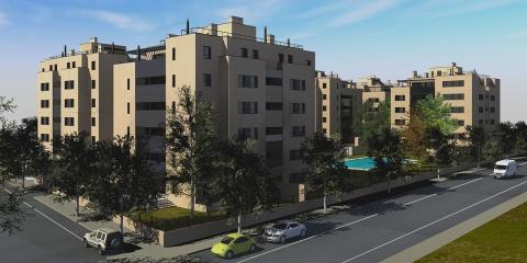 114 flats in Mairena del Aljarafe