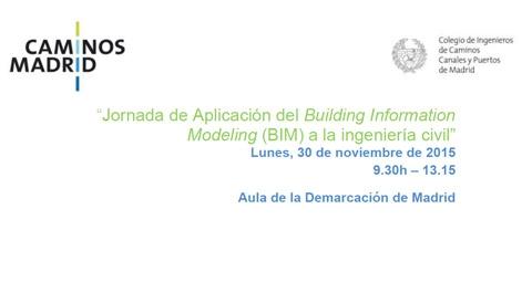 Jornada de Adaptación del BIM a la Ingeniería Civil CICCP Madrid